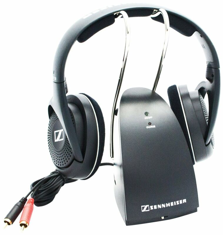 Sennheiser -Over-the-Ear Wireless Headphones Black RS 135