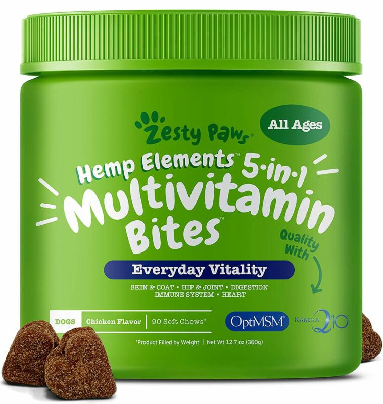multivitamin for dogs with hemp glucosamine chondroitin