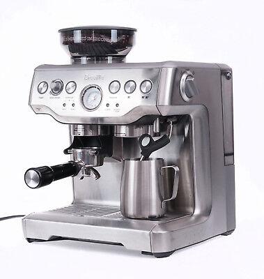 Breville Barista Show Espresso Coffee Machine BES870XL