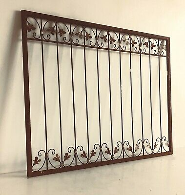 Wrought Iron Iron Fence Fence Fencing Monaco-Z100/200 Rust