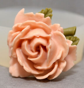 FLOWER-SILICONE-MOULD-wax-resin-clay-fimo-soap-sugarcraft-MOLD-rose