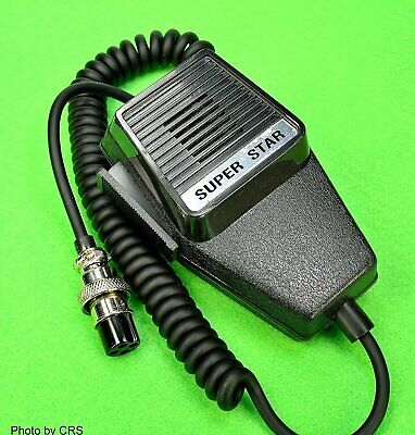 Microphone for 4 pin CB Radio - Professional Series - Workma