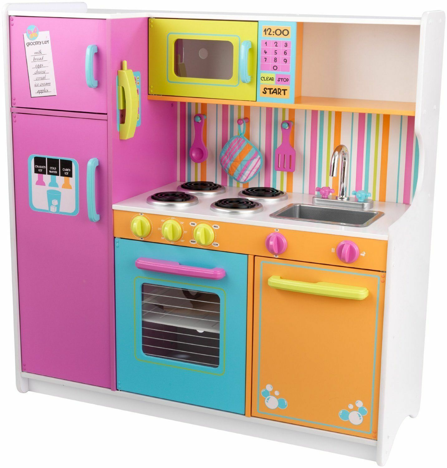 Kidkraft Wooden Play Kitchen top 10 wooden kitchens for kids | ebay