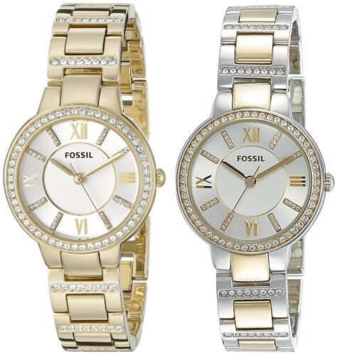 Купить Fossil - Fossil Women's Virginia Gold or Two Tone Stainless Steel Watch - Choice of Color