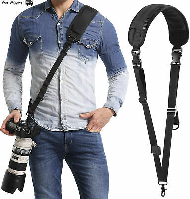 waka Camera Neck Strap with Quick Release and Safety Tether, Adjustable Camera..