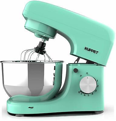 Electric Tilt-Head Countertop Food Stand Mixer 8 Speeds 4.7QT Home Kitchen Green