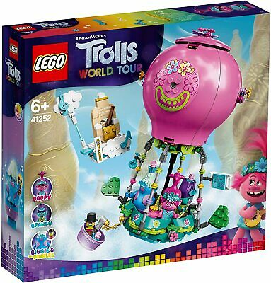 Lego Trolls 41252 - Aventura en Globo de Poppy - NUEVO