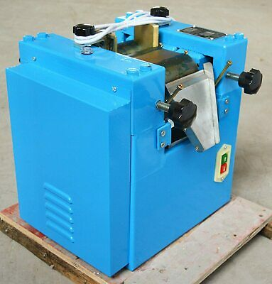New 110v Three Roll Mill Grinding Crushing Machine Lab Grinder 125mm Roller