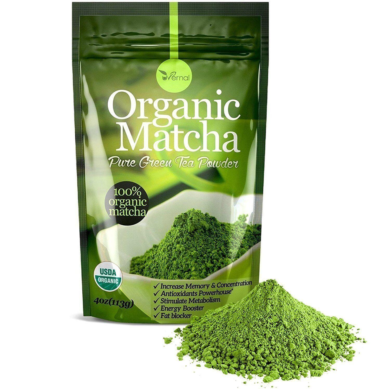 ▶▶▶100% ORGANIC MATCHA POWDER Unsweetened Pure Green T
