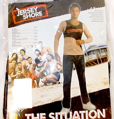 Rubies Jersey Shore The Situation Costume Shirt Adult M 38-40 NIP