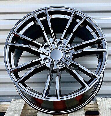 """19"""" M5 Style Gloss Black Wheels Fit BMW F10 528i 535i 550i F06 F12 F13 640i 650i"""
