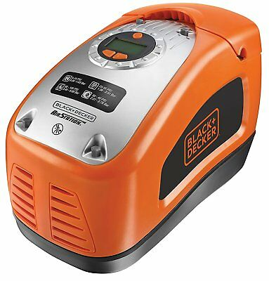 Black and Decker ASI300-QS Compresseur air 160 PSI 11bar AC 230V y 12V Léger avis black et decker asi300 -   1 - Compresseur portatif Black et Decker ASI300