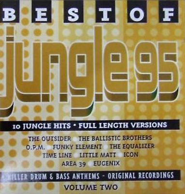 BEST OF JUNGLE 95 VOLUME 2 various (CD album) EX/EX LOW CD 54 drum n bass