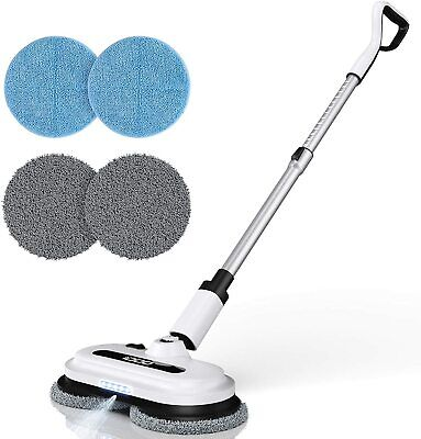 Electric Floor Polisher Scrubber Buffer Burnisher Machine Tile Hard Wood Cleaner