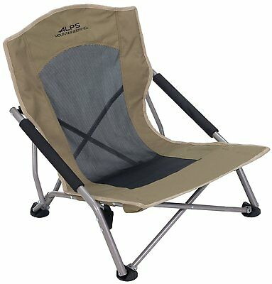 ALPS Mountaineering Rendezvous Folding Chair, Camping, Outdoor, Sporting, Khaki