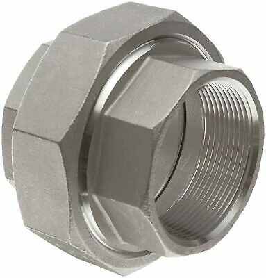 Stainless Steel 304 Cast Pipe Fitting Union Class 150 1 Npt Female