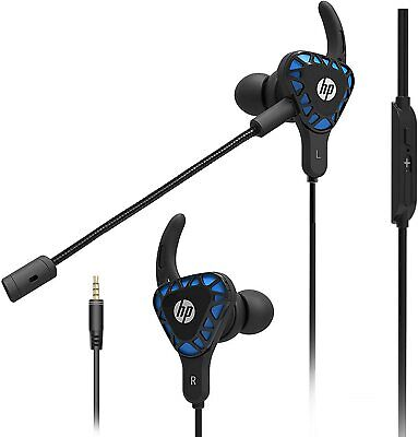 H150 Deep Bass In-ear HP Gaming Earbuds with Detachable Microphone for Xbox One