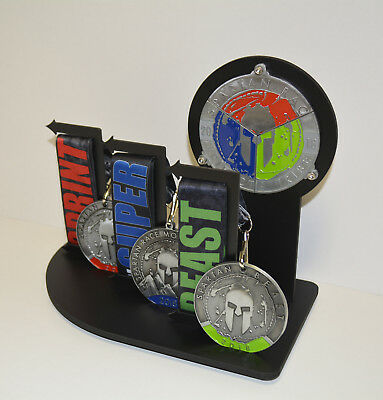 Spartan Race Trifecta Soldier Display  Ocr  Race  Made For Spartan Medals