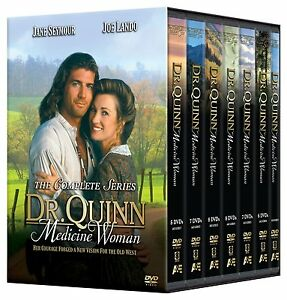 Dr Quinn Medicine Woman Doctor The Complete Collection DVD Box Set New Sealed R4