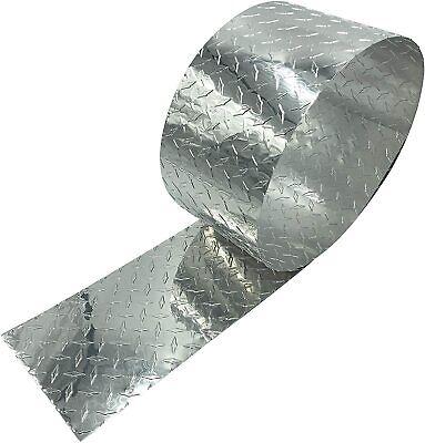 Eagle 1 Thin .025 Aluminum Diamond Tread Plate Rolls - Free Gloves Rivets