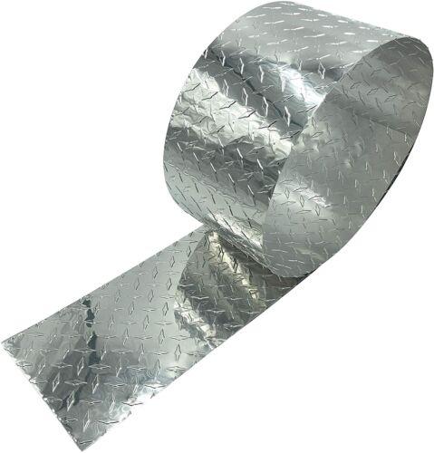 EAGLE 1 Thin .025 Aluminum Diamond Tread Plate Rolls Gravel Guards Many Colors
