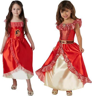 Elena von Avalor Disney Latina Prinzessin Kinder Karneval Kostüm 104-128