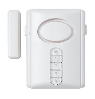Keypad Entry Alarm - DOOR WINDOW ALARM ENTRY ALERT KEYPAD SENSOR VISITOR 90DB+ SECURITY CHIME ML4