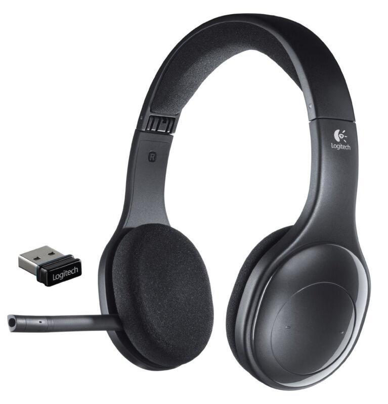 Logitech Wireless Headset Black 981-000337