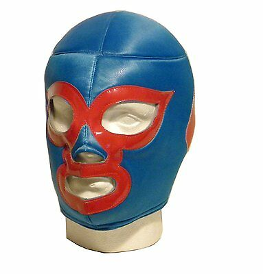 Used, NACHO MEXICAN LUCHA LIBRE LUCHADOR ADULT WRESTLING MASK FANCY DRESS LUCHADORA for sale  Shipping to Canada