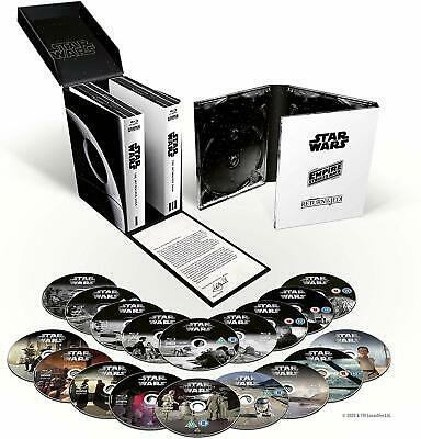 Star Wars Complete The Skywalker Saga 1-9 (New Blu-ray Box Set 18 Discs)
