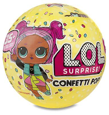 Lol Surprise Confetti Pop   Series 3   Wave 1   100  Authentic   Ships Today