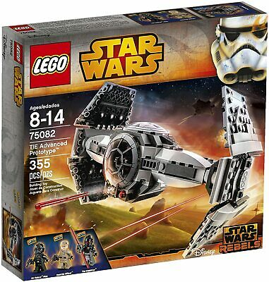 Retired LEGO Star Wars Set 75082 TIE Advanced Prototype New & Factory Seal