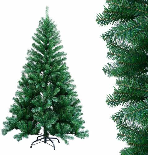 6ft Green 700 Pines Artificial Christmas Xmas Tree w/ 200 LED Warm White Lights