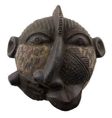 Mask Diminutive African Passport Miniature Earth Cotta Disease 6444 AF1