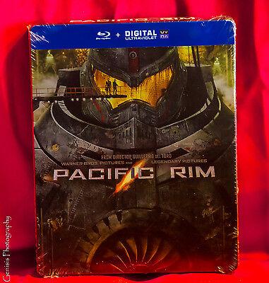 Pacific Rim Blu Ray Steelbook Limited Edition Region Free Brand New