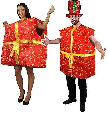 UNISEX KOSTÜM GESCHENK WEIHNACHTEN GEBURTSTAG VERKLEIDUNG COSPLAY PARTY LUSTIG - Lustige Weihnachts Party Kostüm