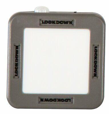 2 Pack Cordless Vault Light Automatic Motion Sensor Gun Cabinet Safe Lamp Magnet