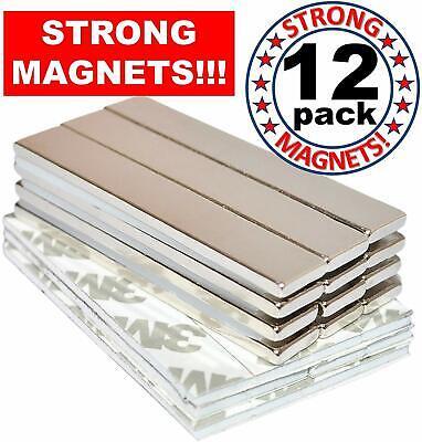 Strong Magnets Rare Earth Neodymium Bar Adhesive Super Permanent Metal