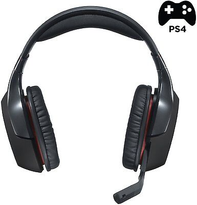 Logitech G930 Wireless PC Gaming Headset Kopfhörer für PC und PS4 Wireless Usb Gaming Headset