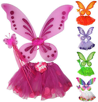Fairy Butterfly Tinker Bell Pixie Costume Tutu Skirt Wings Wand Birthday Party - Tinkerbell Wand