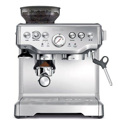 Breville Barista Espresso Machine BES870XL Coffee Maker Stainless Fortify - NEW