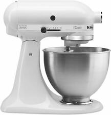 NEW KitchenAid Classic Series 4.5 Quart 10 Speeds Tilt-Head Stand Mixer White