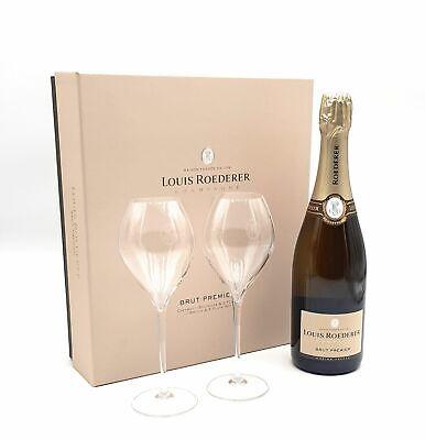Champagne Louis Roederer S.A. Brut Premier Champagner 1x 0,75 l Alkohol 12% vol