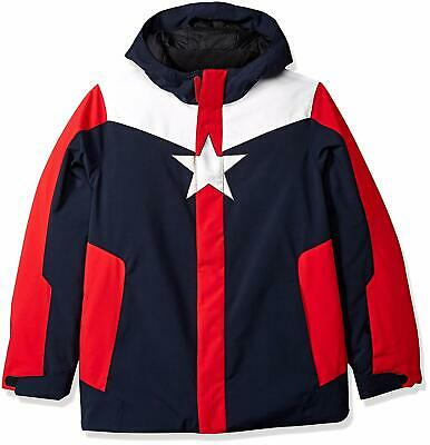 Ski Snowboard Jacket Spyder Kids Boys Marvel Hooded Jacket NWT Size L 12//14