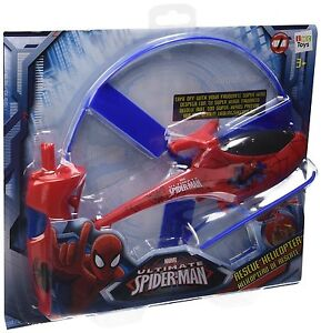IMC Toys Spiderman Rescue Helicopter **BRAND NEW** FREE DELIVERY * UK SELLER *