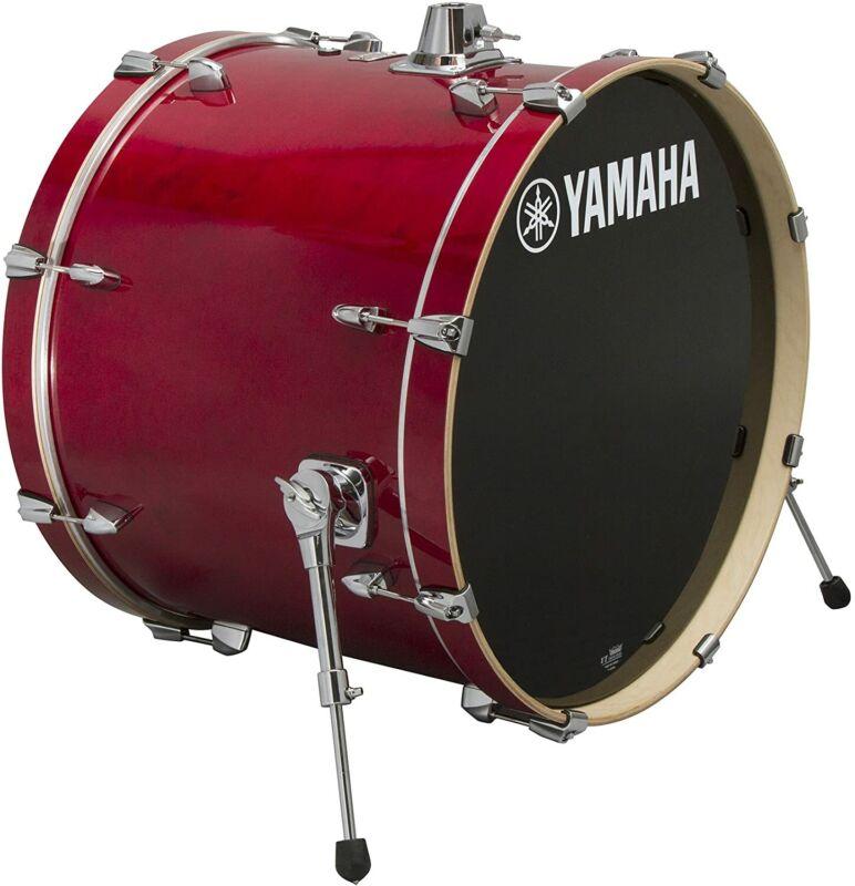 Yamaha Stage Custom Birch Bass Drum 24x15 Cranberry Red