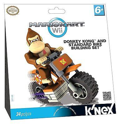 K'nex Mario Kart Wii Donkey Kong und Standard Bike Building Set NEU & OVP KNEX