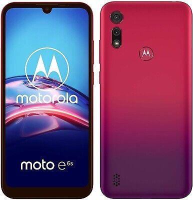Motorola Moto E6s 6.1'' 4G Smartphone 32GB Dual-Sim Unlocked - Sunrise Red A