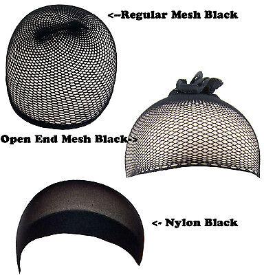 Black Wig Caps – Mesh Cap, Nylon Cap Clothing, Shoes & Accessories