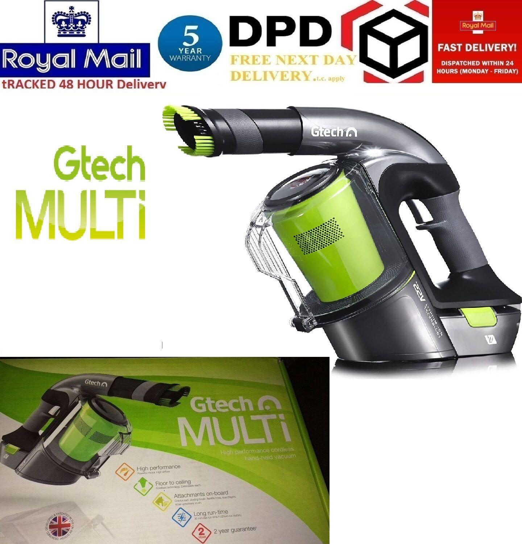 Gtech Multi Hand Held Vacuum Cleaner Mk 1 Cordless Lithium
